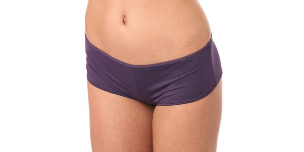 Dámské fialové nohavičkové kalhotky Marlies Dekkers s kovovými plátky