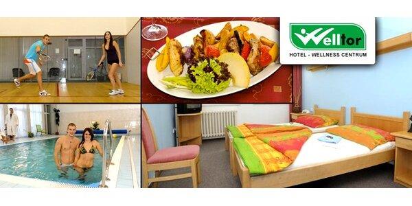 2499 Kč za pobyt pro DVĚ osoby ve wellness-hotelu Welltor
