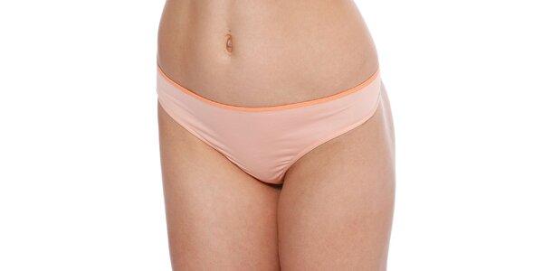 Dámské meruňové kalhotky tanga Marlies Dekkers