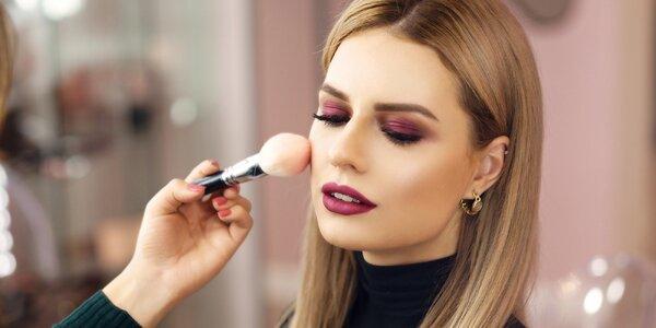 120minutový profi kurz make-upu