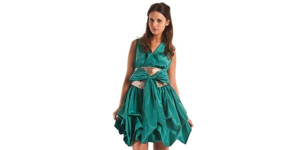 Dámské tyrkysové šaty Jolaby