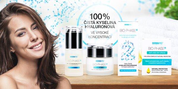 Kosmetika BIO-PHASE2® s organickou kyselinou hyaluronovou