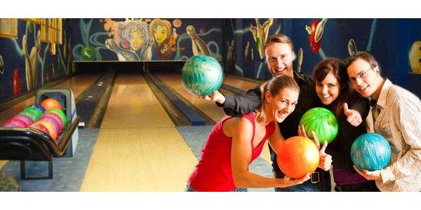 Hodina bowlingu v Bonver Bowling Centru