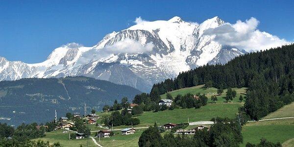 Švýcarské a Francouzské Alpy: dvě noci se snídaní