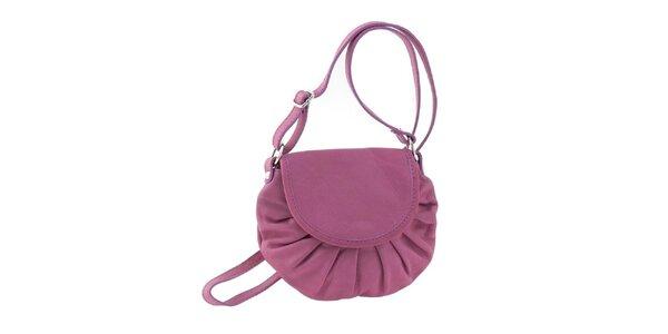 Dámská růžová kožená kabelka Ore 10