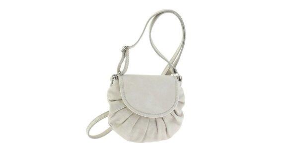 Dámská bílá kožená kabelka Ore 10