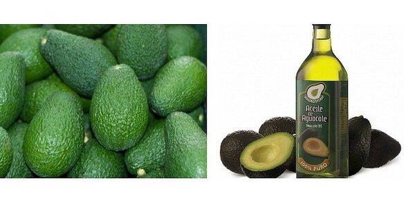 100% panenský avokádový olej 750ml z Mexika