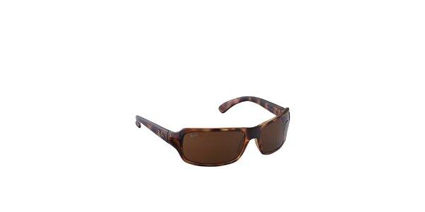 Jantarovo-hnědé sluneční brýle Ray-Ban