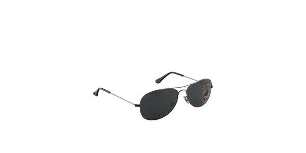 Šedé sluneční brýle Ray-Ban