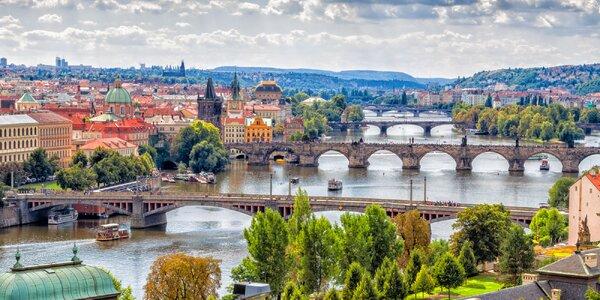 Praha romantická: Vyhlídková plavba po Vltavě