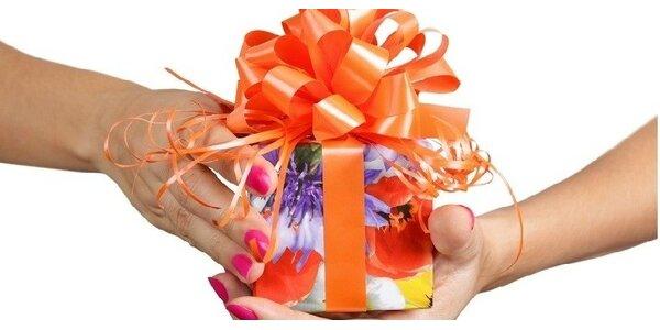 Luxusní balení dárků ve Vaňkovce