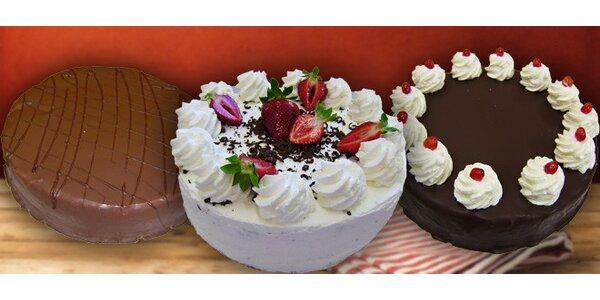 Oslaďte si život jedním z lahodných dortů