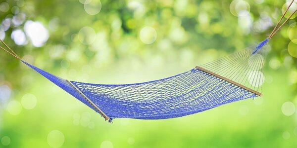 Ideální letní relax: Houpací sítě na zahradu