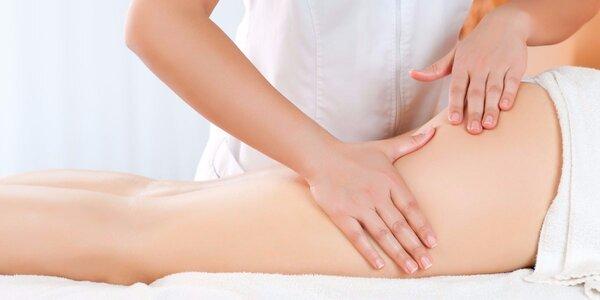 Manuální masáž proti celulitidě + zábal