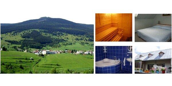 3denní dovolená v Nízkých Tatrách s wellnessem