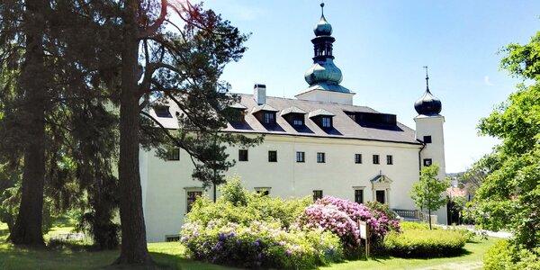 Dovolená na zámku: až 8 dní pohádkového odpočinku