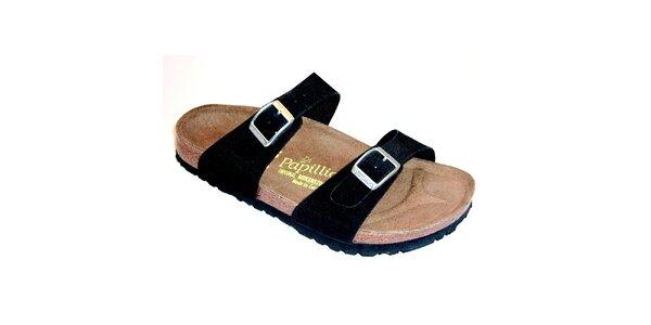 Dámské černé ortopedické pantofle Papillio