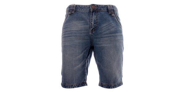 Pánské džínové kraťasy s obnošeným efektem Lee Cooper a69f5b4d1f