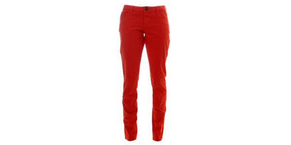 Dámské oranžové kalhoty Lee Cooper
