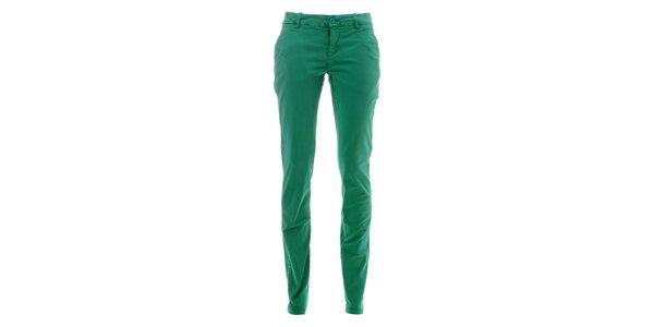 Dámské mátově zelené kalhoty Lee Cooper