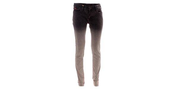 Dámské šedivé džíny s ombré efektem Lee Cooper