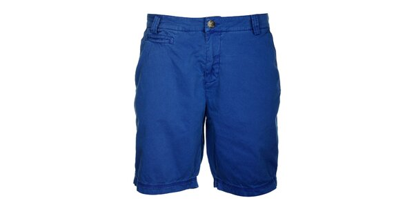Pánské královsky modré šortky Lee Cooper