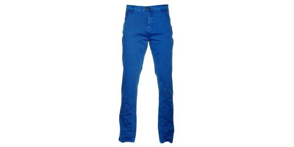 Pánské královsky modré kalhoty Lee Cooper