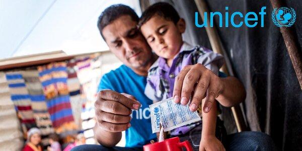 Pomozte s UNICEF dětem ohroženým cholerou