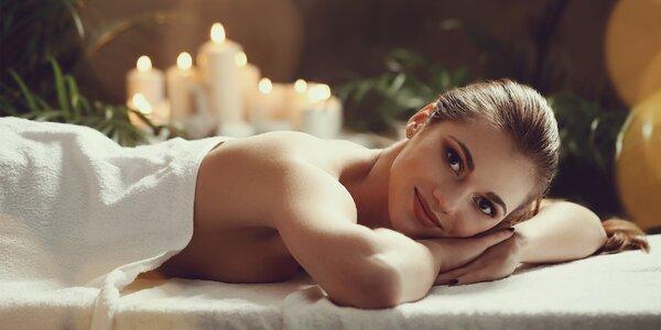 60minutová masáž dle vlastního výběru
