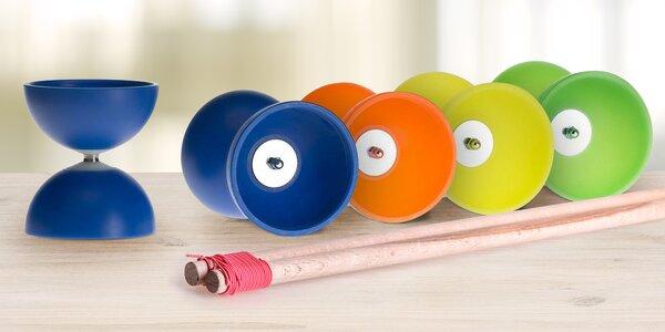 Žonglovací set Diabolo pro děti i dospělé