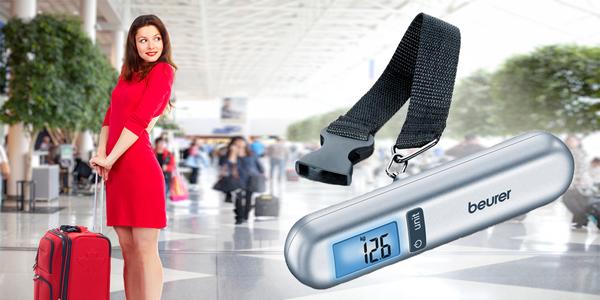 Váha na zavazadla s přesností na 10 gramů