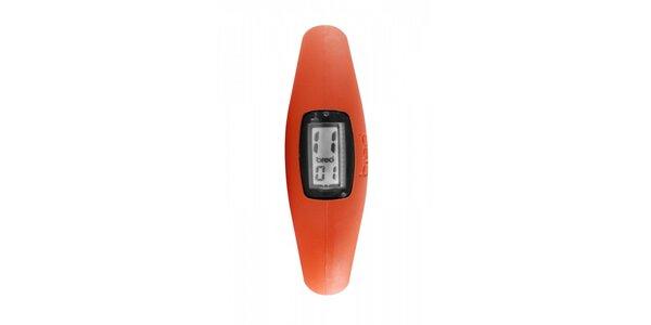 Oranžové silikonové hodinky Breo Roam XL