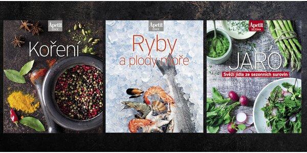 3 kuchařky Apetit: ryby, kořeněná a jarní jídla