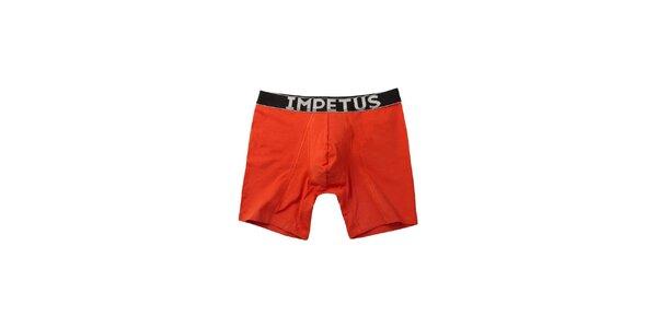 Pánské červené boxerky Impetus