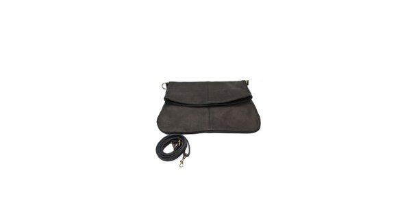 Dámská černá variabilní kabelka z hověziny Free for Humanity