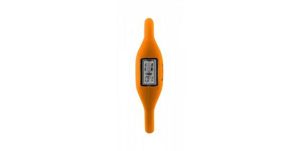 Oranžové neonové hodinky Breo Roam
