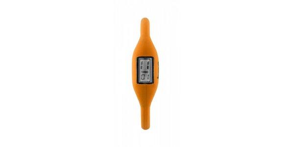 Oranžové silikonové hodinky Breo Roam