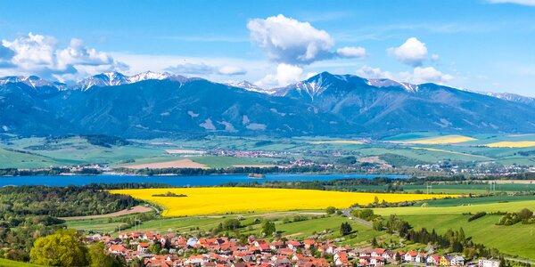 Tatranská příroda, klid a polopenze pro 2 osoby