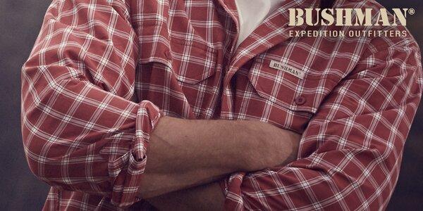 Kvalitní a slušivé pánské košile Bushman