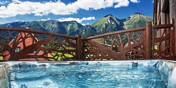 Luxusní chata v Tatrách s vířivkou a saunou