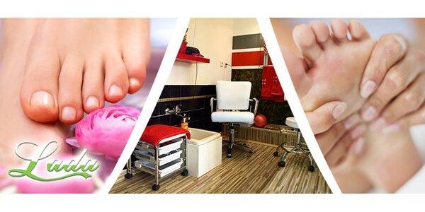 149 Kč za profesionální pedikúru a uvolňující masáž nohou v Ostravě