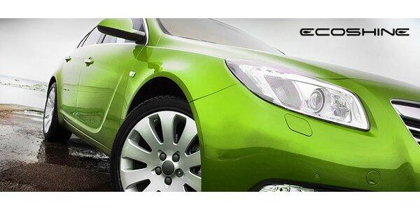 Ekologické ruční mytí auta Ecoshine