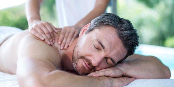 Sportovní masáž pro muže