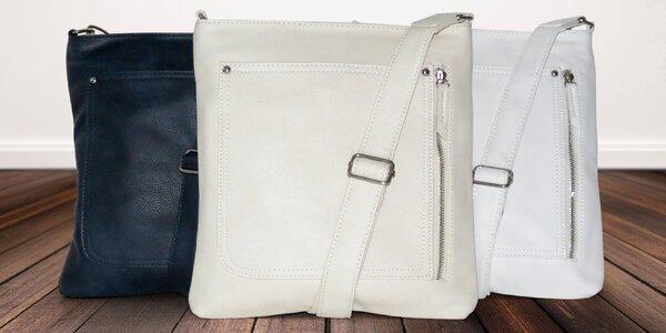 Praktická dámská crossbody kabelka