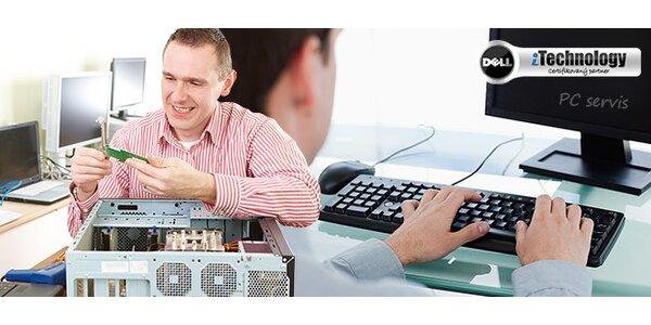 Servis počítačů, instalace, odvirování, čištění a další služby
