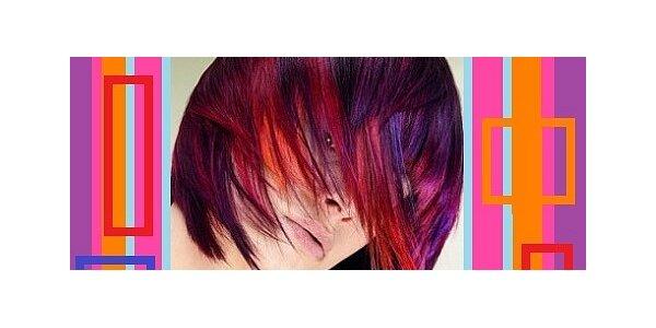Krásný melír všech barev do vašich vlasů