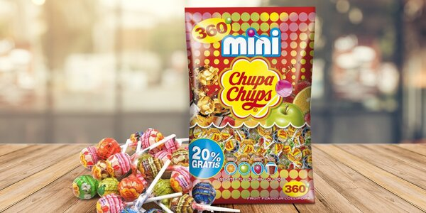 Mix mini lízátek Chupa Chups
