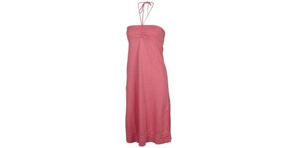 Dámské růžové šaty Chiemsee