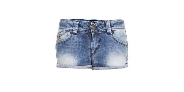 Dámské světle modré džínové mini šortky Lois