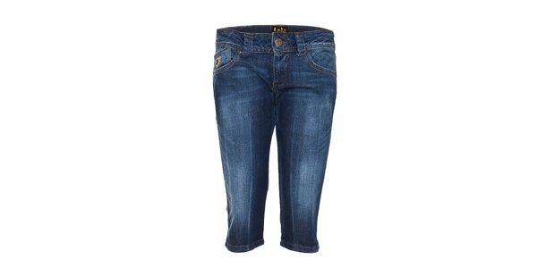Dámské džínové capri kalhoty Lois